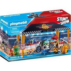 Playmobil Stunt Show Officina Meccanica 70552