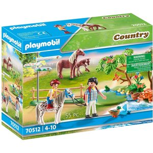 Playmobil Country Passeggiata con Pony 70512