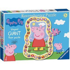 Ravensburger Peppa Pig Puzzle Gigante  24 Pezzi