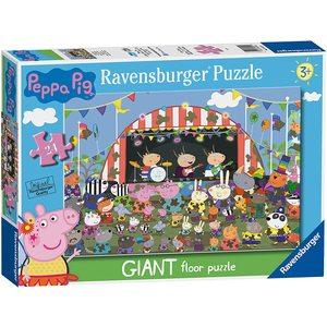 Ravensburger Peppa Pig Puzzle Gigante  24 Pezzi Family Celebrations