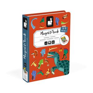 Janod Magneti' Book Dinosauri
