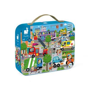 Janod Puzzle Città 36 pezzi