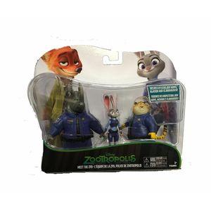 Zootropolis Polizia Set 3 personaggi