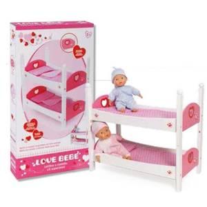 love Bebè Lettino a Castello in legno