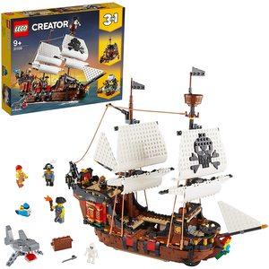 Lego Creator 3 in 1 Galeone dei Pirati 31109