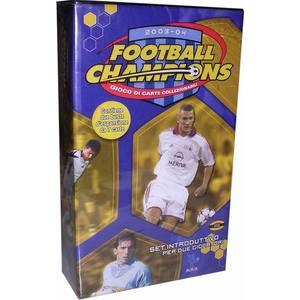 Football Champions Set con 8 Mazzi Introduttivi Stagione 2003/04