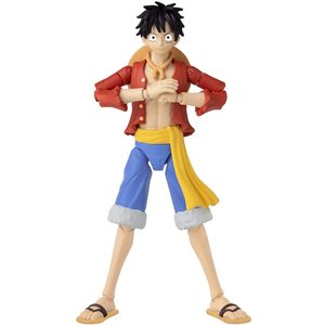 Ban Dai One Piece Rubber (Monkey D. Luffy) personaggio 17 cm