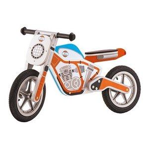Trudi Sevi Moto Pedagogica Motorbike in Legno