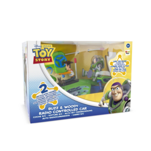 TOY STORY RC CAR MET WOODY & BUZZ