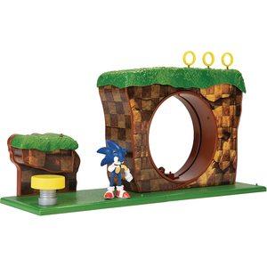Nintendo Sonic Green Hill Zone Playset