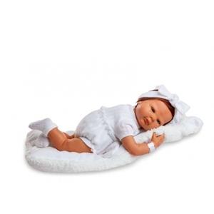Bambola Reborn con Shearlin Bianco 50 cm