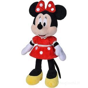 Disney Peluche Minnie con Vestito Rosso 35 cm