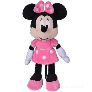 Disney Peluche Minnie con Vestito Fucsia 35 cm
