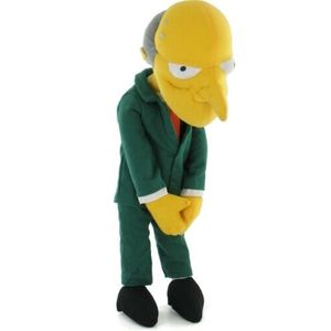 The Simpsons Peluche Mr Burns h 35 cm