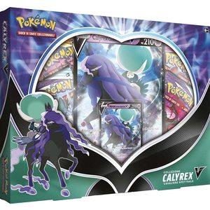 Pokémon Collezione Calyrex V Cavaliere Spettrale