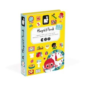 """Janod Magnetic Book """"I Momenti della giornata"""""""