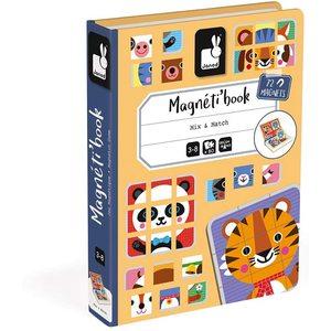 Janod Magneti'Book Mix E Match