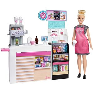 Barbie Coffee Shop Con Bambola