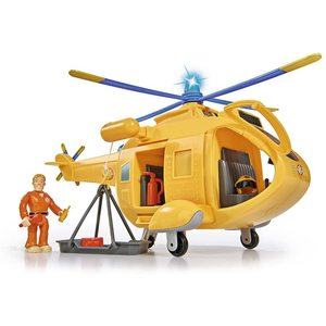 """Simba Sam Il Pompiere Elicottero """"Wallaby 2"""" con Personaggio"""