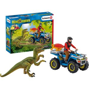 Schleich Dinosauro Con Veicolo 41466