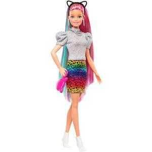 Barbie Capelli Multicolor con funzione Cambia Colore