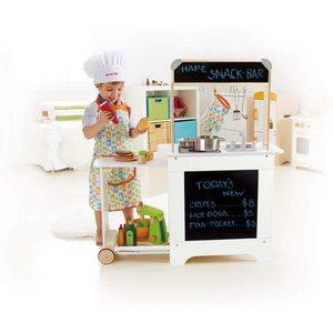 Hape Cucina di Legno con Carrello