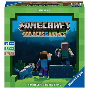 Minecraft Builders & Biomes Gioco da Tavolo Ravensburger