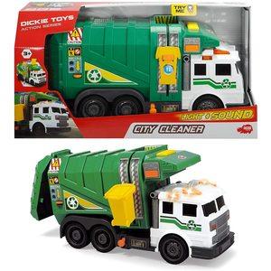 Camion Ecologia Colore Verde Luci e Suoni Dickie Toys