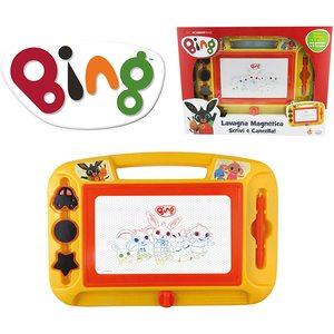 Bing Lavagna Magnetica Grande per disegnare e scrivere
