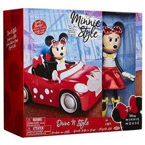 Walt Disney Minnie con Auto