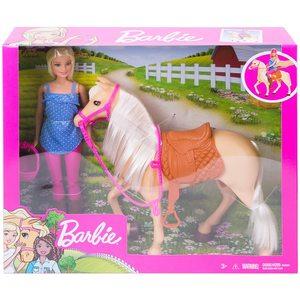 Barbie Bambola con Cavallo e Accessori