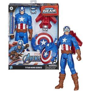 Hasbro Marvel Avengers Capitan America 30 cm con Accessori