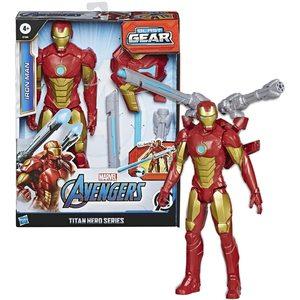 Avengers Marvel Legends Iron Man Titan Hero 30 cm con Accessori