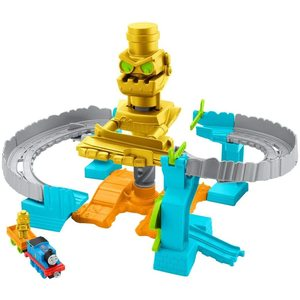 Trenino Thomas pista salvataggio con Robot