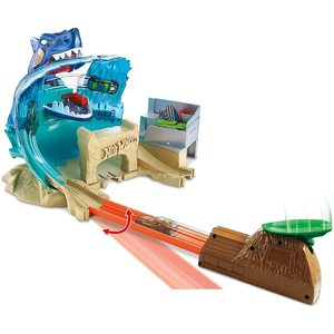 Hot Wheels Mega Playset Pista dello Squalo
