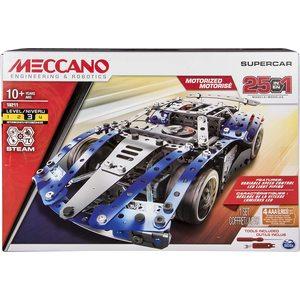 Meccano Supercar 25 modelli diversi