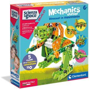 Clementoni Mechanics Junior Dinosauri in Movimento