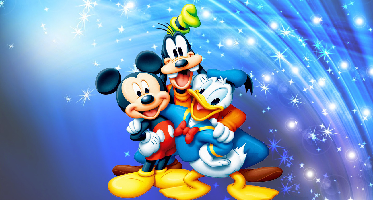 15 158220 mickey mouse and donald duck