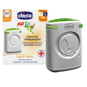 CHICCO Dispositivo antizanzare portatile Kids e Family