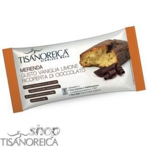 TISANOREICA S-Merenda Vaniglia Limone ricoperta cioccolato 50 gr