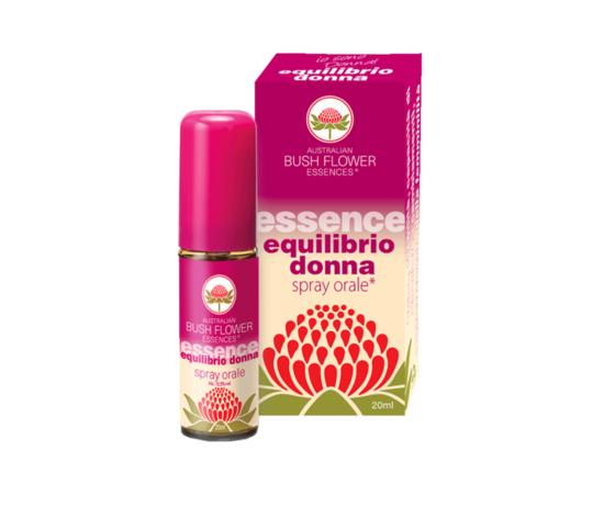 Equilibrio Donna spray orale Bush Flower essence 20 ml