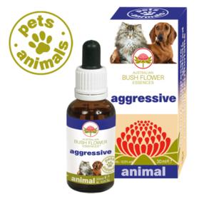 Aggressive PET Bush Flower Essence animal 30 ml