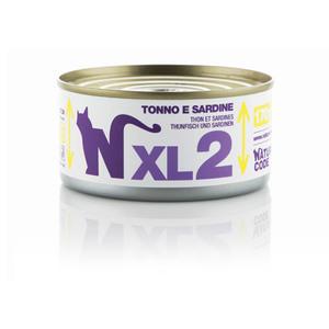 NATURAL CODE CAT Adult XL 2 tonno e sardine 170 gr