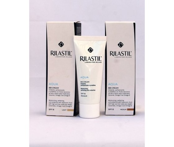 Rilastil Aqua BB cream medium SPF 15 40 ml
