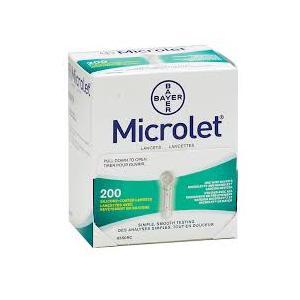 Microlet 200 lancette