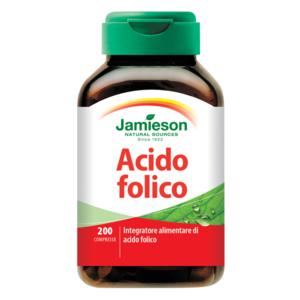 Acido Folico 200 capsule Jamieson