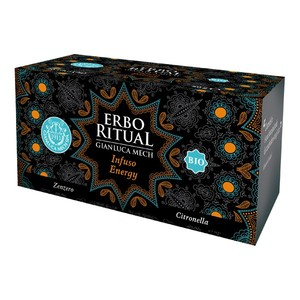 Erbo Ritual Infuso Energy 20 bustine Gianluca Mech