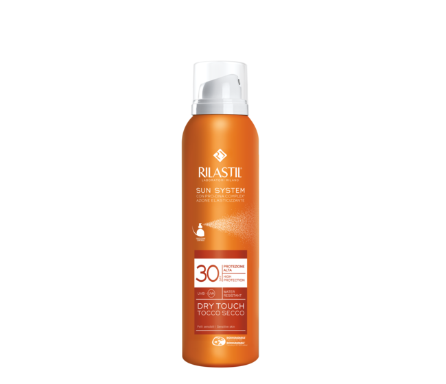 Rilastil SUN SYSTEM SPF 30 Dry Touch spray 200 ml