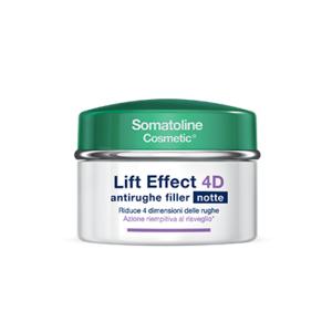 Somatoline Lift Effect 4D Antirughe Filler Notte 50 ml