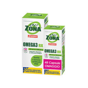 OMEGA 3 RX 120 cp + 48 cp omaggio EnerZona